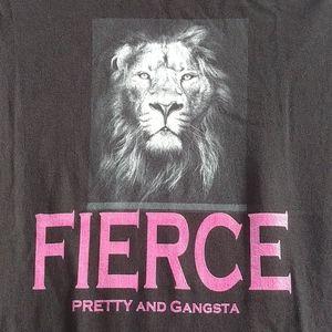 Fierce Black T-shirt